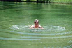 Bad im Lac de Champex