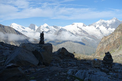Die höchsten Berge der Schweiz