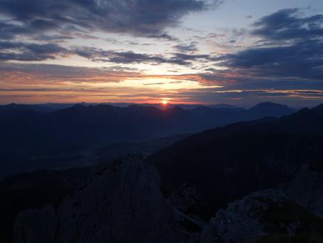 Via Alpina Abschluss erster Teil