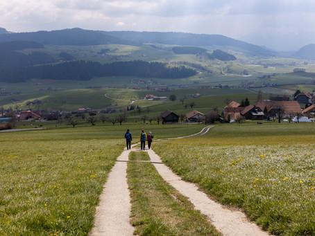 Alpenpanoramaweg Teil 7 Lüderenalp -  Toffen