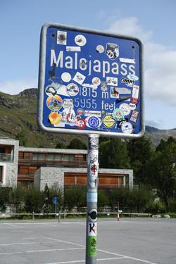 Ankunft Maloja