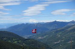 Blick zum Monte Rosa