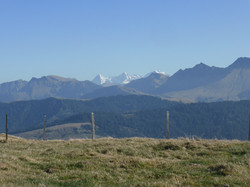 Blick in die Berner Alpen