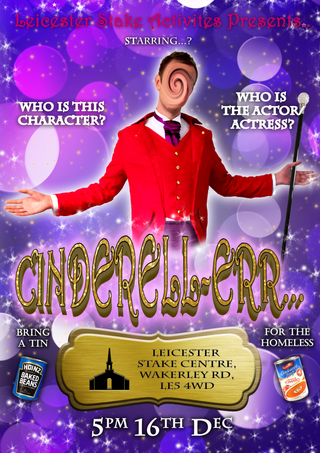Cinderell-err Panto Poster - Character 5
