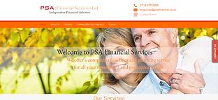 PSA (Financial Services) Ltd Website.PNG