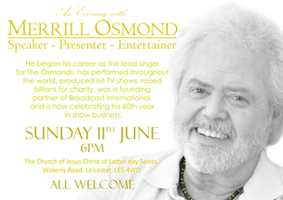 Merrill Osmond Poster