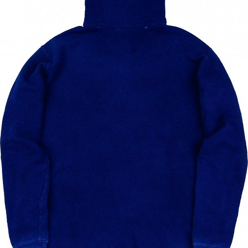 FRENCH THERMAL TURTLENECK -BLUE-