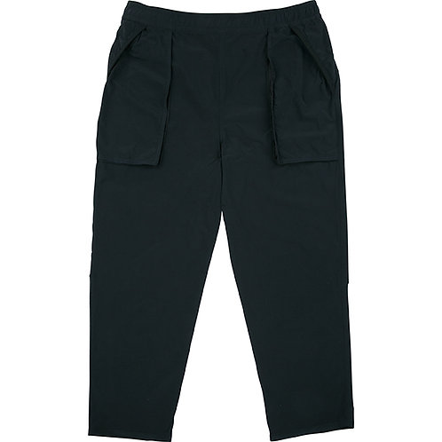 SUPER NYLON STRETCH PANTS	【BLACK】