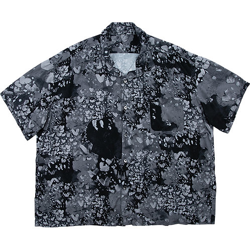 HEART ALOHA SHIRT【BLACK】