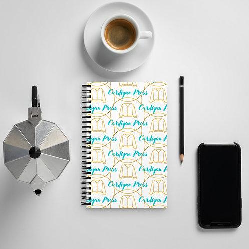 Cardigan Colors Logo Notebook