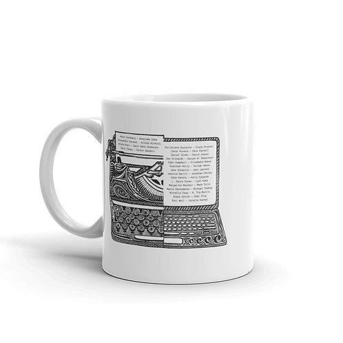 Byline Legacies Contributors White glossy mug
