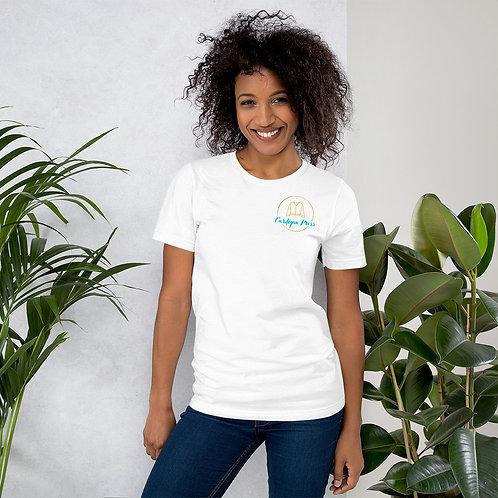 Colored Logo Short-Sleeve Unisex T-Shirt