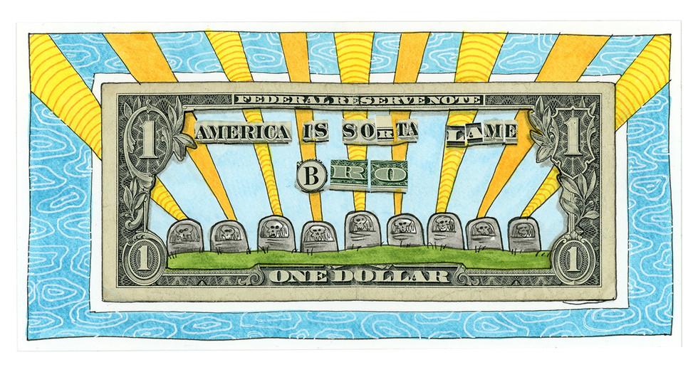 Dollar Collage #1