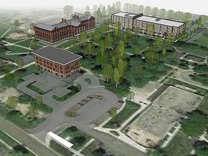 Zero Day Community Revitalization: Urban - Michign School for the Blind Campus