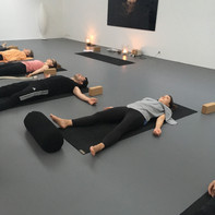 Community class at Yoga Tribe