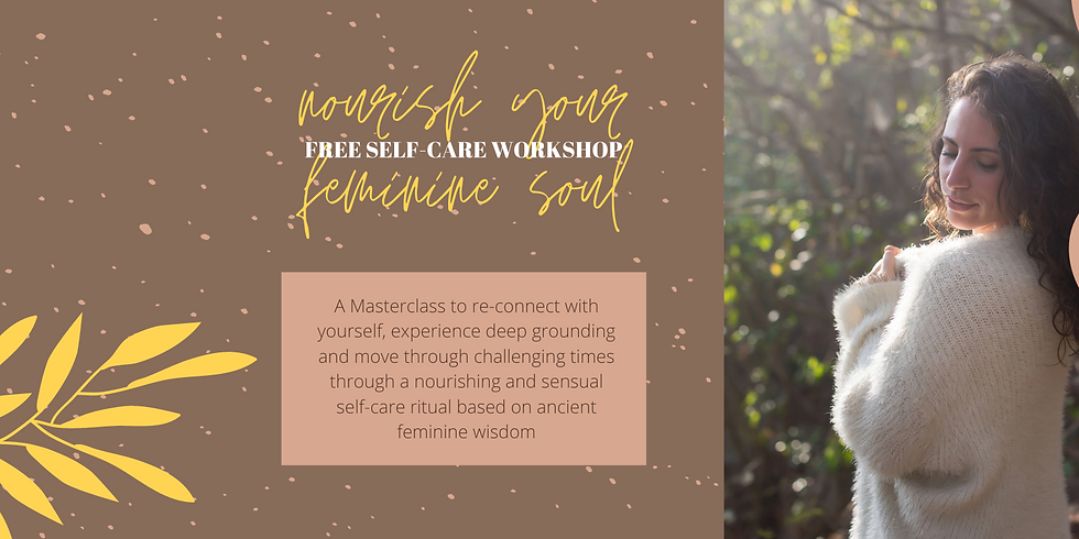 Nourish your Feminine Soul Masterclass