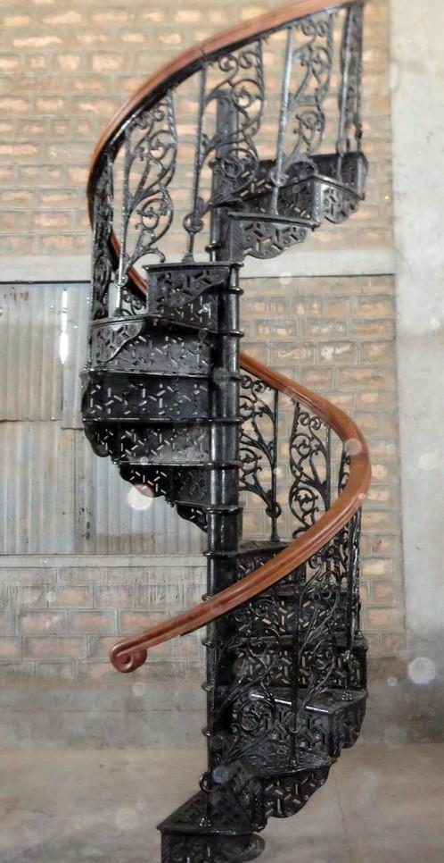 escalier helicoidal 135