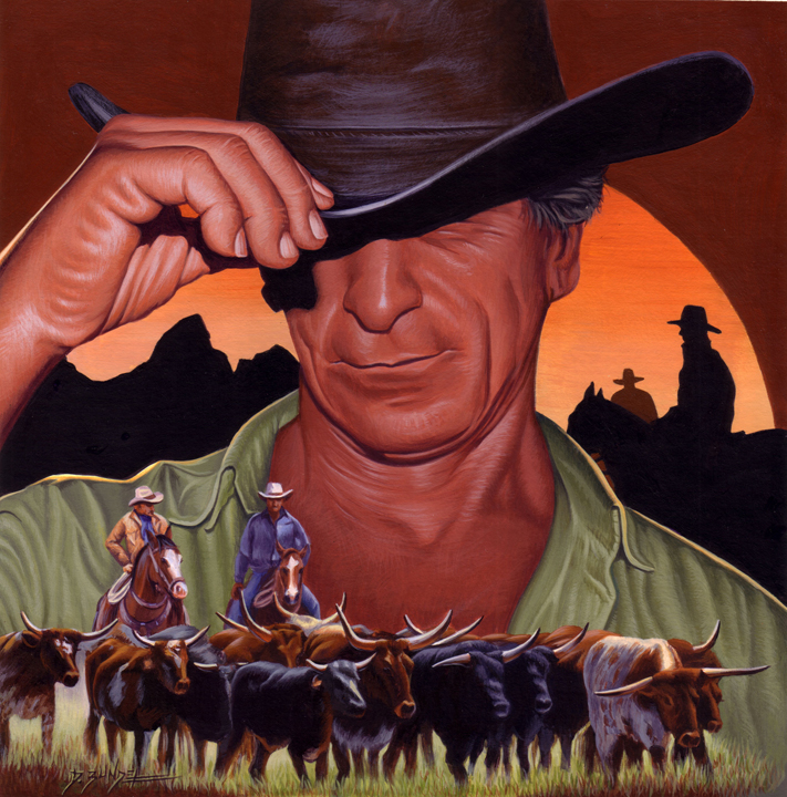Sunset of the Cowboy