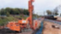 pililing / Track Piling