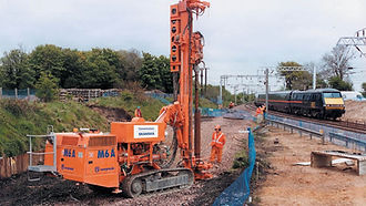 pililing / Track Piling