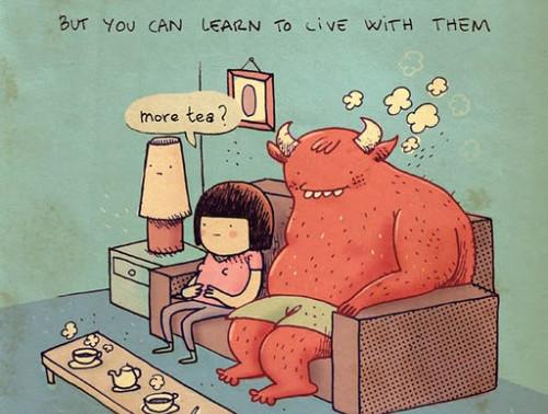 ¿Cómo te relacionas con tus miedos?