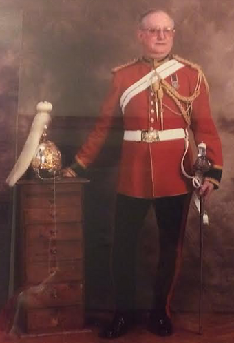 WO2 Keith Whitworth - Life Guards