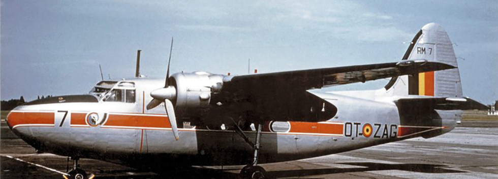 Percival Pembroke C.51 RM-7/OT-ZAG at Melsbroek in the early sixties.  This machine is now preserved at the Dakota Historical Center/15th Wing