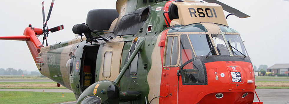 Westland Seaking Mk.48 RS-01 weeks before its retirement to the Royal Army Museum at Brussels on December 17th, 2008.