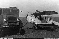 Stampe Vertongen SV-4B V-10 being refueled in the early fifties.