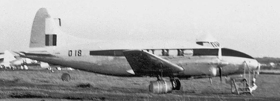 De Havilland DH.104 Dove 1B D-18 at Kamina airbase (BAKA) in early 1960.