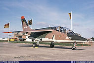 AMD Alpha Jet  1B AT-28 during the Oostende Airshow on August 22nd, 1981.