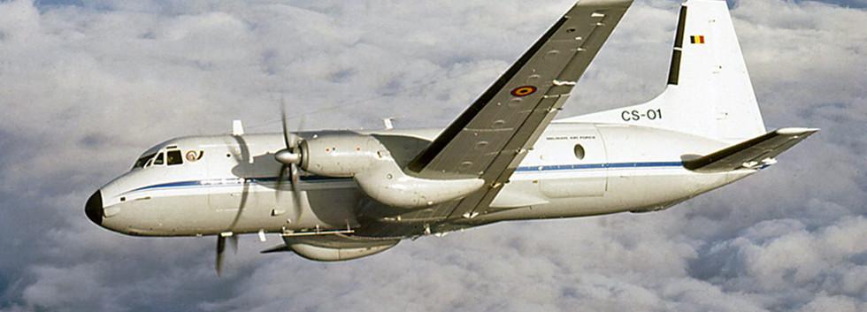 CS-01 in flight.
