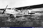 Auster A.O.P. 6 A-22  at Schaffen Diest in the early fifties.