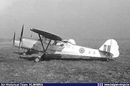 Auster A.O.P. 6 A-9 in a line up at Schaffen-Diest in the early fifties.