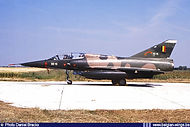 Dassault Mirage 5BD BD-14 at Florennes airbase on 28 February 1986.