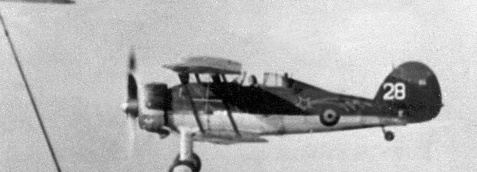 G-28 in flight.