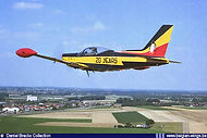 For the occasion of 20 Years of Marchetti operations with the Belgian Air Force, ST-24 was given a special paint in 2000.