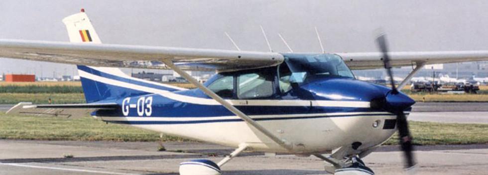 The first Cessna Skylane to wear serial G03 - Laurent Heylighen Collection.