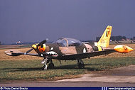 Siai Marchetti SF260M ST-02 at Goetsenhoven airbase on 29 August 1986.