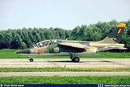 AMD Alpha Jet 1B AT-14 preparing for take-off at Leeuwarden airbase (Nl.) in in August 1982.