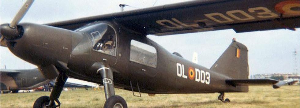 Dornier Do27J D-03 (OL-D03) of the Belgian Army's Light Aviation.