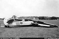 Stampe Vertongen SV-4B V-7 crashed at Oostende-Raversijde airport on 4 Augustus 1953 and was written off.