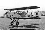 Stampe Vertongen SV-4B V-47 seconds before landing at Goetsenhoven airbase in the mid-fifties.