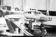 Gloster Meteor T.7 ED-17 at Fairey Gosselies.