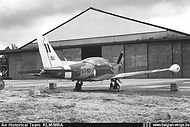 """Siai Marchetti SF260 ST-10 with the personal marking """"Sic"""" of demonstration pilot Cdt Jean Siccard at Brustem airbase. For the 1970/1971 display seasons this was the spare aircraft for ST-08 which Siccard normally used for his show."""