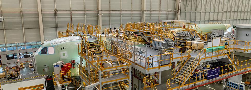 CT05-MSN-116 under construction at Sevilla on 30 September 2020