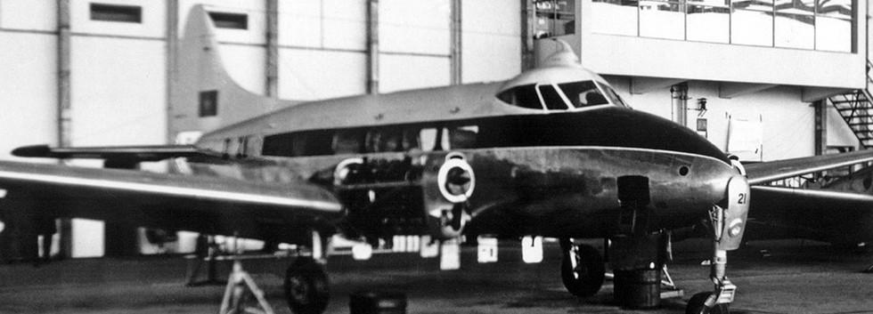 D-21 receiving maintenance.