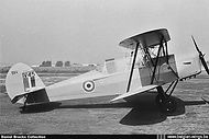 Stampe Vertongen SV-4B V-45 at Evere in the fifties.