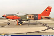 Siai Marchetti SF260M ST-36 at Beauvechain airbase on December 5th, 1997.