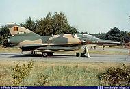 Dassault Mirage 5BD BD-03 at Bierset airbase during the 1976 airshow.